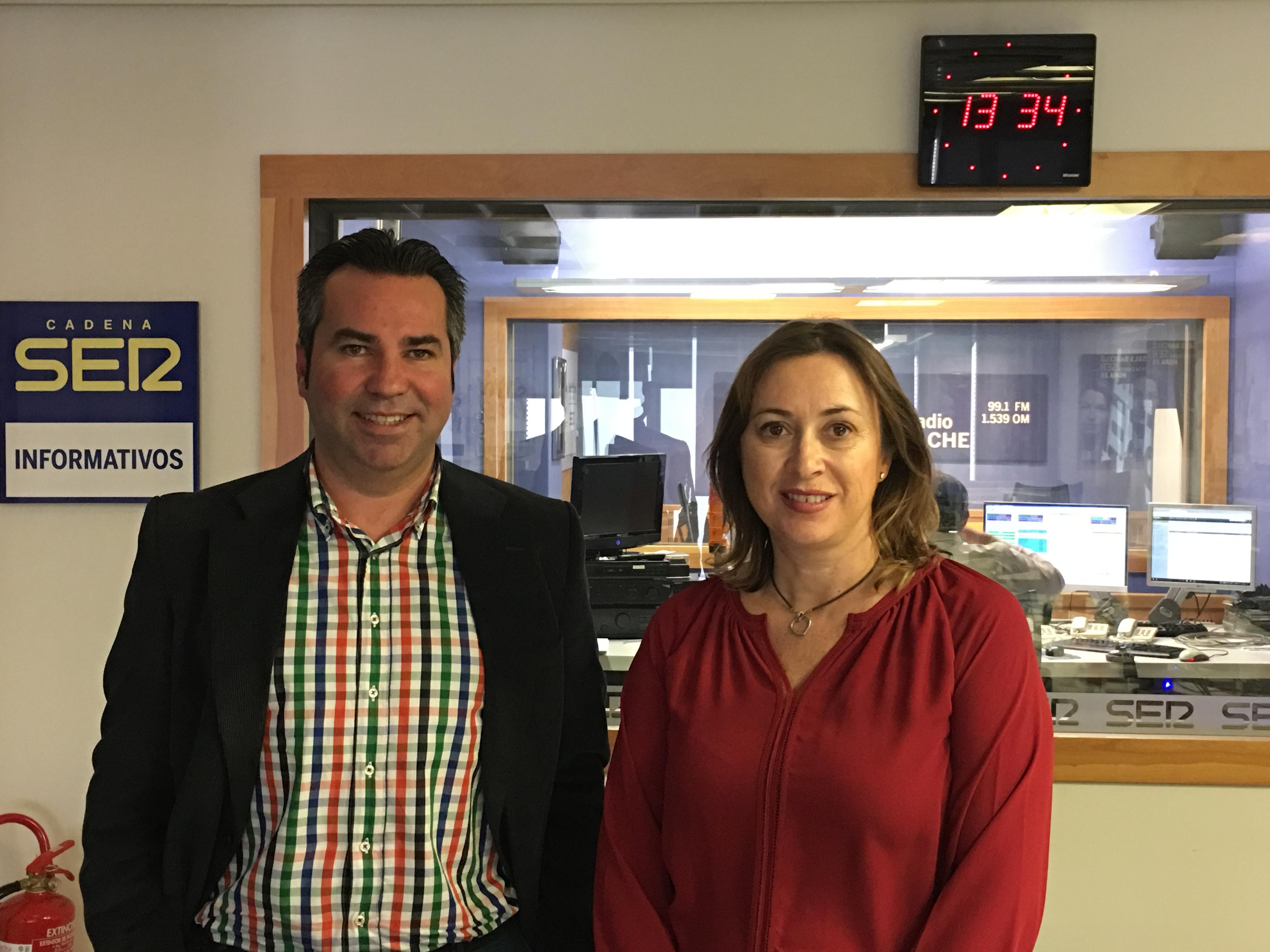 Invitación al programa de Cristina Medina en Radio Elche