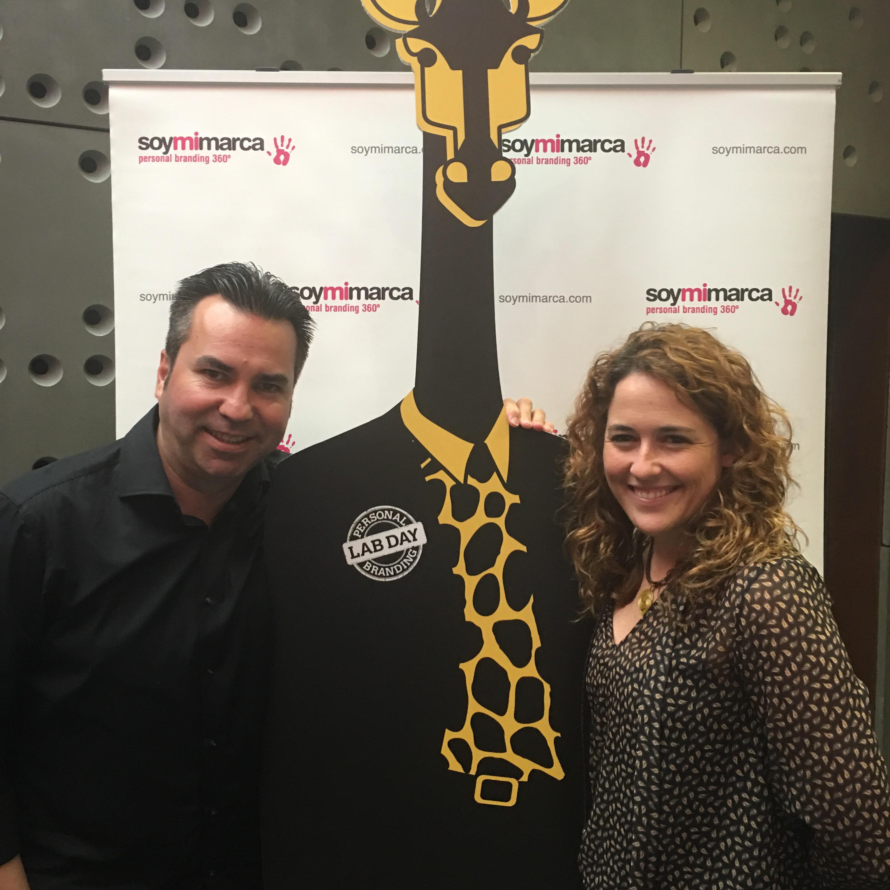 Con Ami Bondia en el personal Branding Lab Day 2016