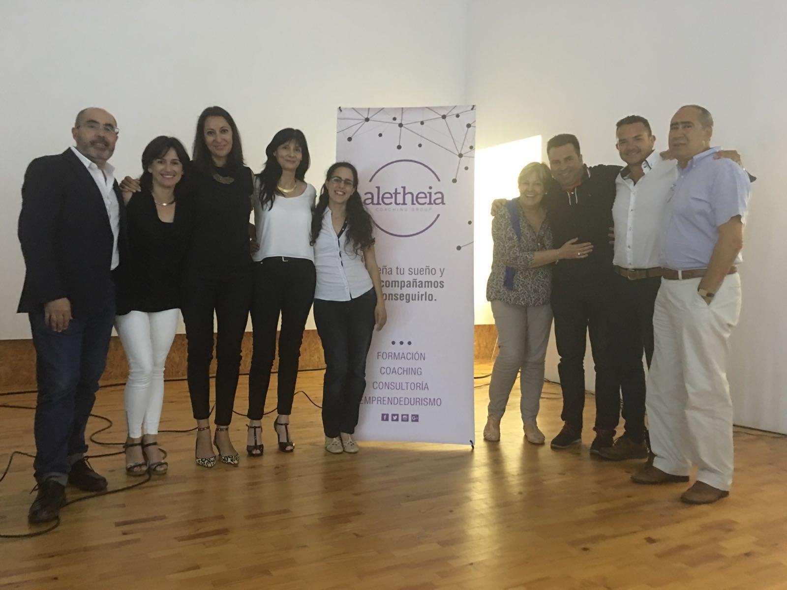 Presentación del libro Factor H de Fernando Botella, junto a Aletheia Coaching Group