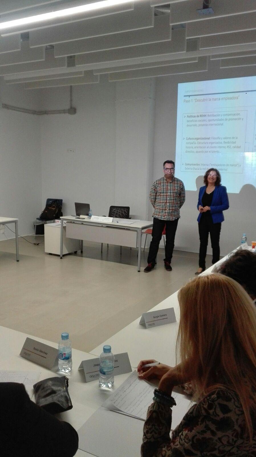 Taller de Employer Branding con Cristina Mulero