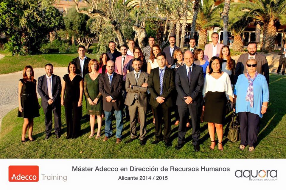 Clausura Máster RRHH Aquora Business Education